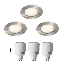 Philips Massive 59383/17/10 - FREA Downlight 3xGU10/7W/230V