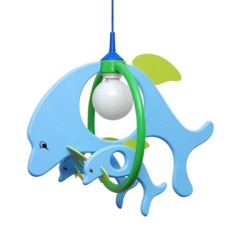 28217 - detský luster delfín