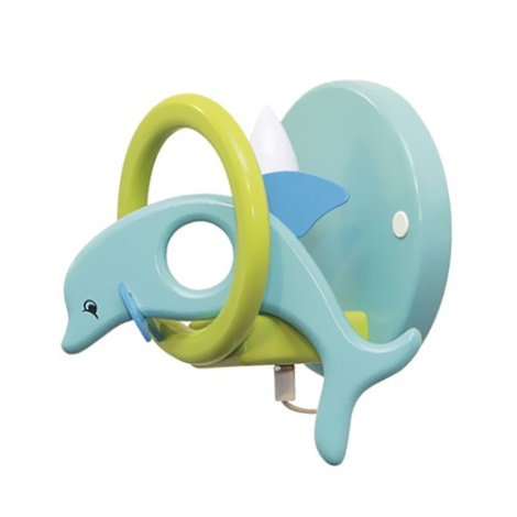 28241 - detské nástenné svietidlo delfín