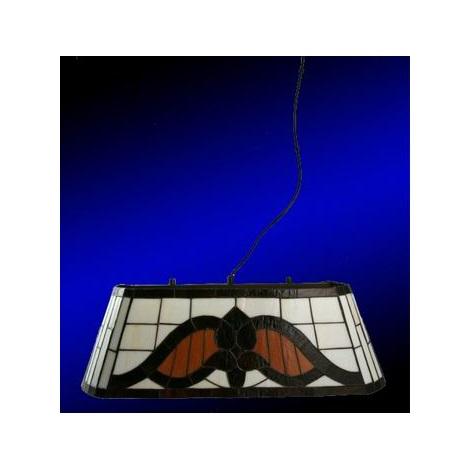 302302-24 - Závesné svietidlo TIFFANY CLASSIC 2xE27/60W