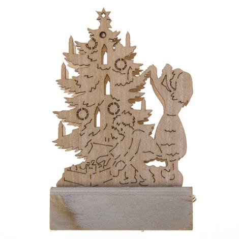31073 - Vianočná dekorácia 1xLED/0,04W/2xAA