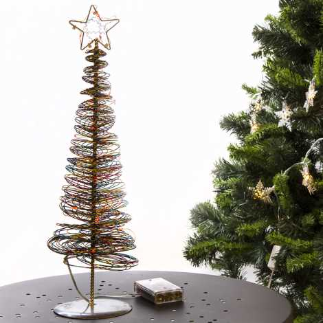 31387 - Vianočný stromček LED/0,9W/3xAA
