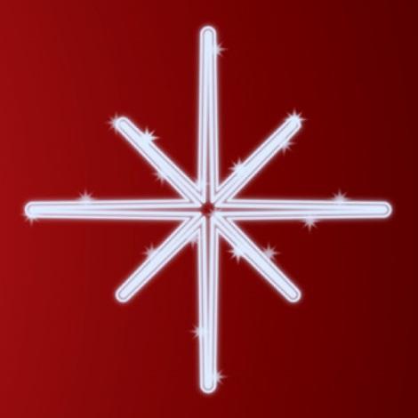 31653 - Vianočná dekorácia LED/7,2W/230V