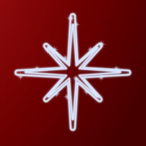 31660 - Vianočná dekorácia LED/7,2W/230V