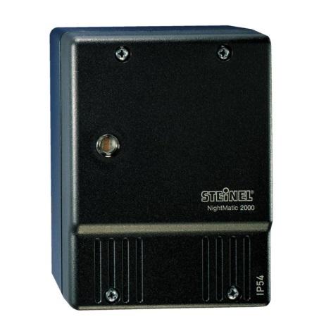 550318 - súmrakový spínač NightMatic 2000 čierna