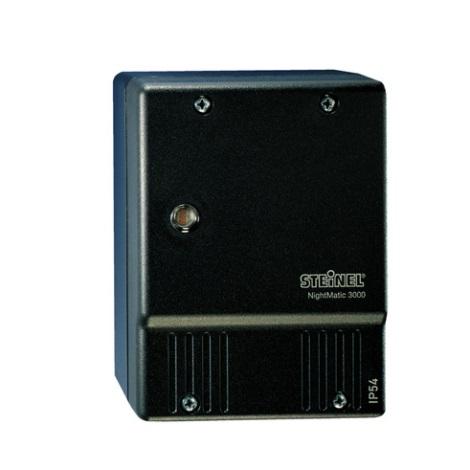 550516 - súmrakový spínač NightMatic 3000 Vario čierna