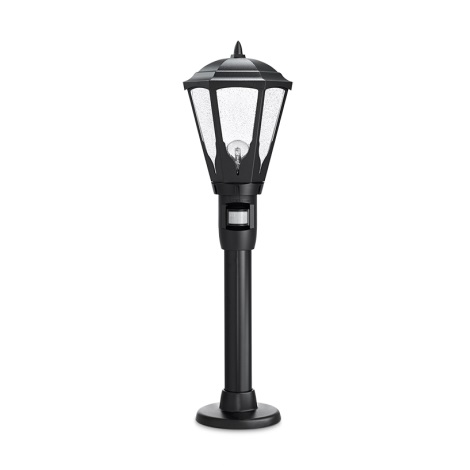 617011 - Senzorová vonkajšia lampa GL 16 S 1xE27/100W čierna