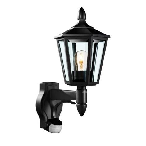617813 - Senzorové nástenné svietidlo L 15 1xE27/60W čierna