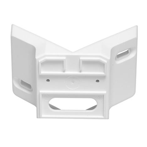630218 - rohový držiak 01 biely