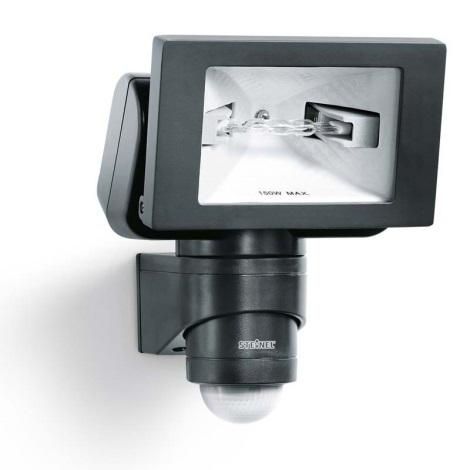 633011 - HS 150 DUO čierna senzorová lampa pre vonkajšia priestory