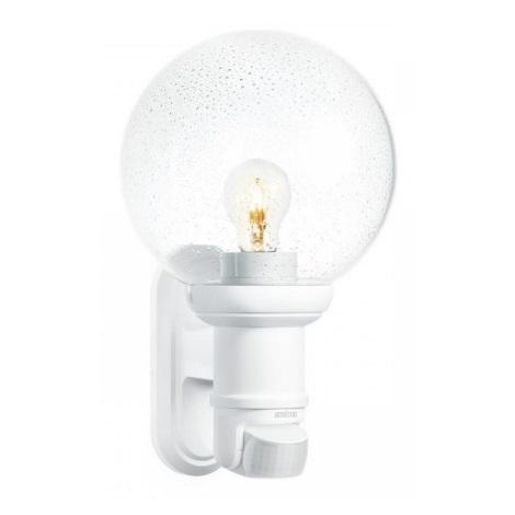 634315 - L 560 S biela senzorová nástenná lampa pre vonkajšia priestory