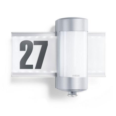 647810 - L 270 S hliníkovej senzorové svietidlo osvetľujúci domové číslo