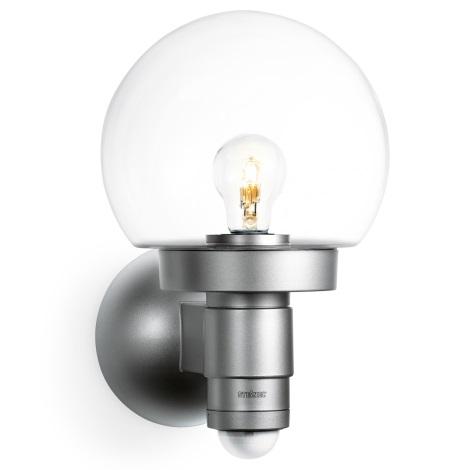 657512 - nástenná lampa sa senzorem L 115 S stříbrná