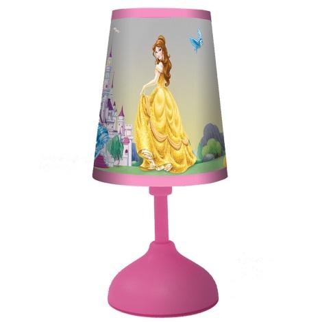 70166 Detská stolná lampa PRINCESS 1xG24q/10W ružová