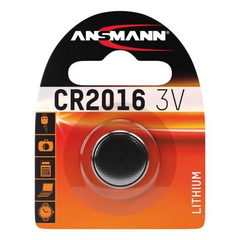 Ansmann CR 2016 - Líthiová batéria gombíková 3V