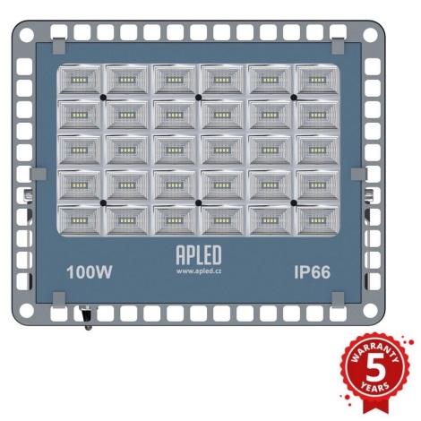 APLED - LED Vonkajší reflektor PRO LED/100W/230V IP66 10000lm 6000K