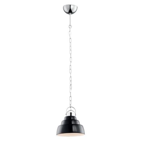Argon 375 - Luster MARGERITA 1xE27/60W/230V čierny 20 cm