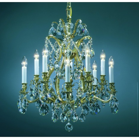 Artcrystal PAL515400010 - Luster 10xE14/40W