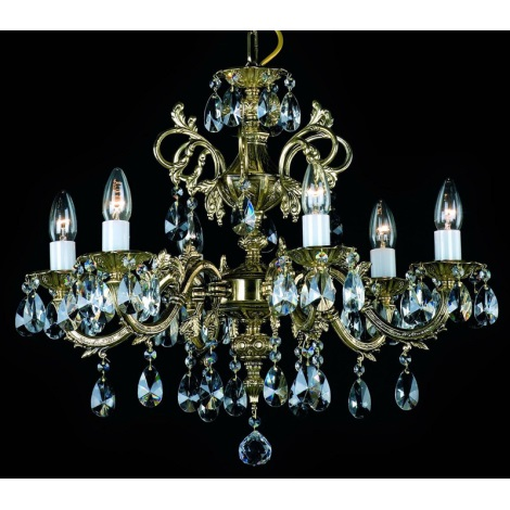 Artcrystal PAN385300006 - Luster 6xE14/40W