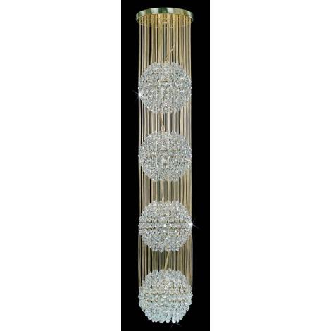 Artcrystal PCB093800004 - Luster 4xE27/60W