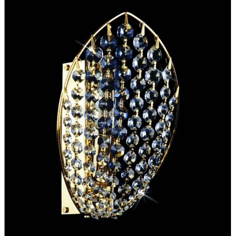 Artcrystal PWB091500001 - Nástenné svietidlo 1xE14/40W
