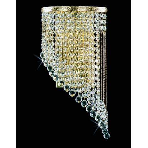 Artcrystal PWB103000002 - Nástenné svietidlo 2xE14/40W
