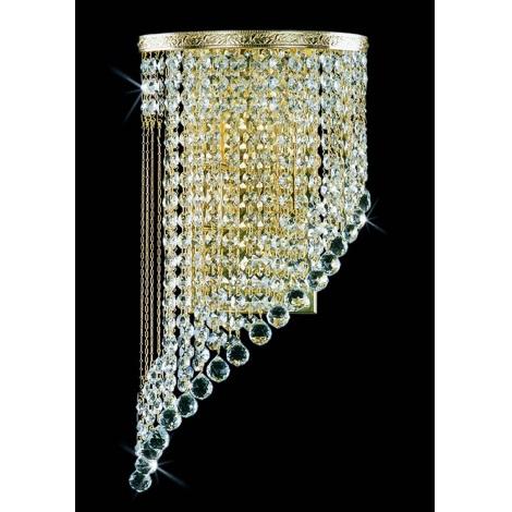 Artcrystal PWB103001002 - Nástenné svietidlo 2xE14/40W