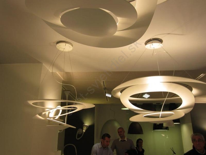 artemide 1247010a z vesn stropn svietidlo pirc mini soffitto svet svietidiel. Black Bedroom Furniture Sets. Home Design Ideas