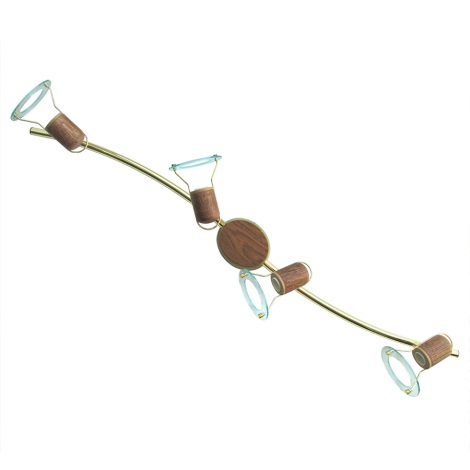 Bodové svietidlo 4xE14-R50/40W