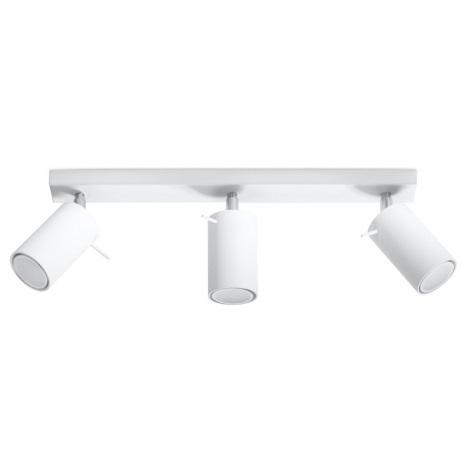 Bodové svietidlo RING 3 3xGU10/40W/230V biela
