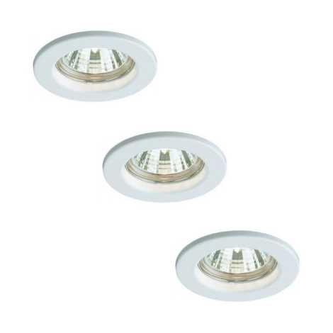 Bright Light 59393/31/19 - SADA 3x Kúpeľňová svietidla 3xGU10/50W/230V