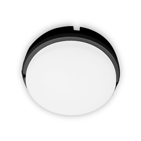 Brilagi - LED Stropné priemyselné svietidlo SIMA LED/12W/230V IP65 čierna