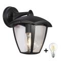 Brilagi - LED Vonkajšie nástenné svietidlo LUNA 1xE27/8W/230V IP44