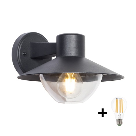 Brilagi - LED Vonkajšie nástenné svietidlo VEERLE 1xE27/8W/230V IP44