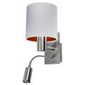 Brilagi - Nástenné svietidlo VENTO 1xE27/60W/230V + LED/2,1W/230V