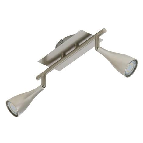 Briloner 2925-022T - LED bodové svietidlo START 2xGU10/4W/230V
