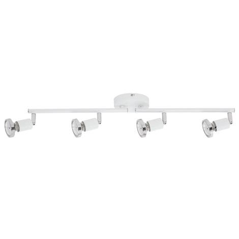 Briloner 3325-046 - LED Bodové svietidlo BAFFLE 4xGU10/4W/230V