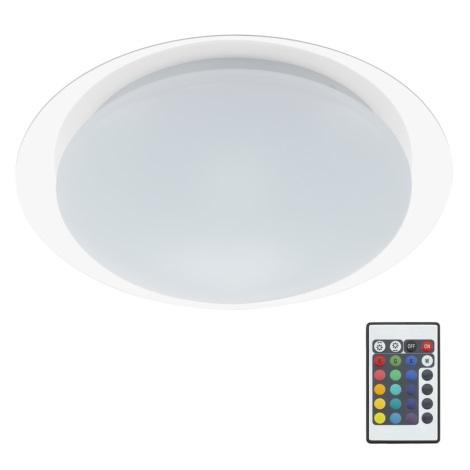 Briloner 3493-016 - LED RGB Stmievateľné stropné svietidlo 1xLED/12W/230V + diaľkové ovládanie IP44