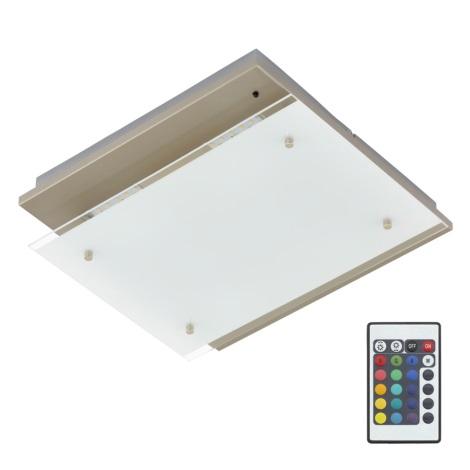 Briloner 3696-042 - LED Stropné svietidlo s diaľkovým ovládačom SAM 4xLED/3,6W/230V