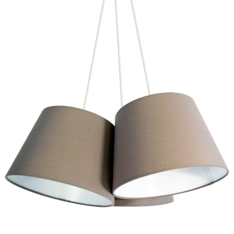 Briloner 4288-031 - Závesné svietidlo TELA 3xE27/40W