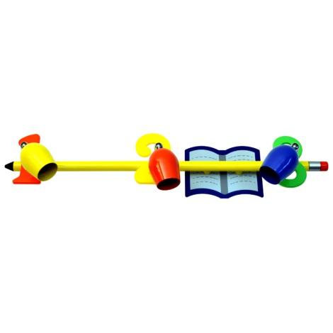 CS6883Z - Detské bodové svietidlo CERUZKA 3xGU10/50W/230V