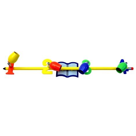 CS6884Z - Detské bodové svietidlo CERUZKA 4xGU10/50W/230V