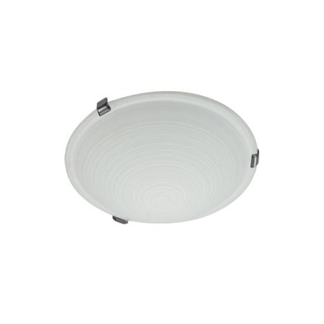 CYCLO stropné svietidlo 1xE27/60W matný chróm biela
