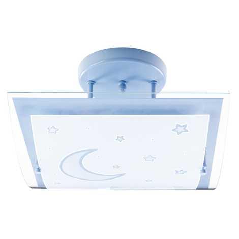 Dalber 45237T - Detské stropné svietidlo MOON LIGHT 2xE27/40W/230V