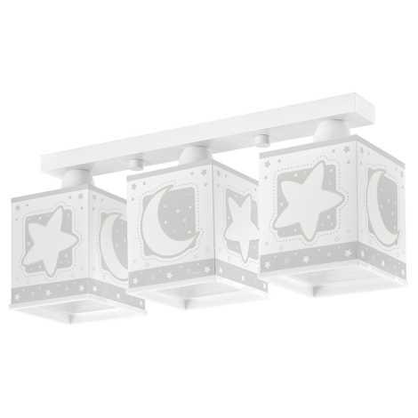 Dalber 63233 - Detské stropné svietidlo MOON LIGHT 3xE27/60W/230V