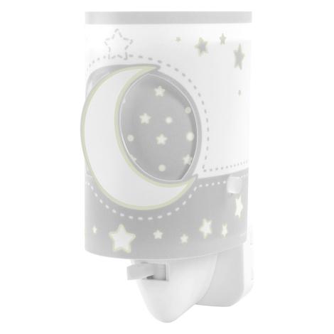 Dalber 63235LE - LED lampička do zásuvky MOON LIGHT 1xE14/0,3W/230V