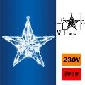 Dekorácia do okna hviezda 20xL21D/230V