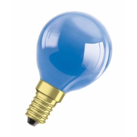 Dekoračná žiarovka E14/11W DECOR P BLUE