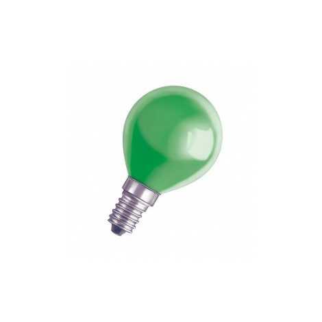 Dekoračná žiarovka E14/11W DECOR P GREEN