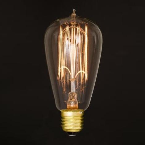 Dekoračná žiarovka E27/60W/230V 132 mm